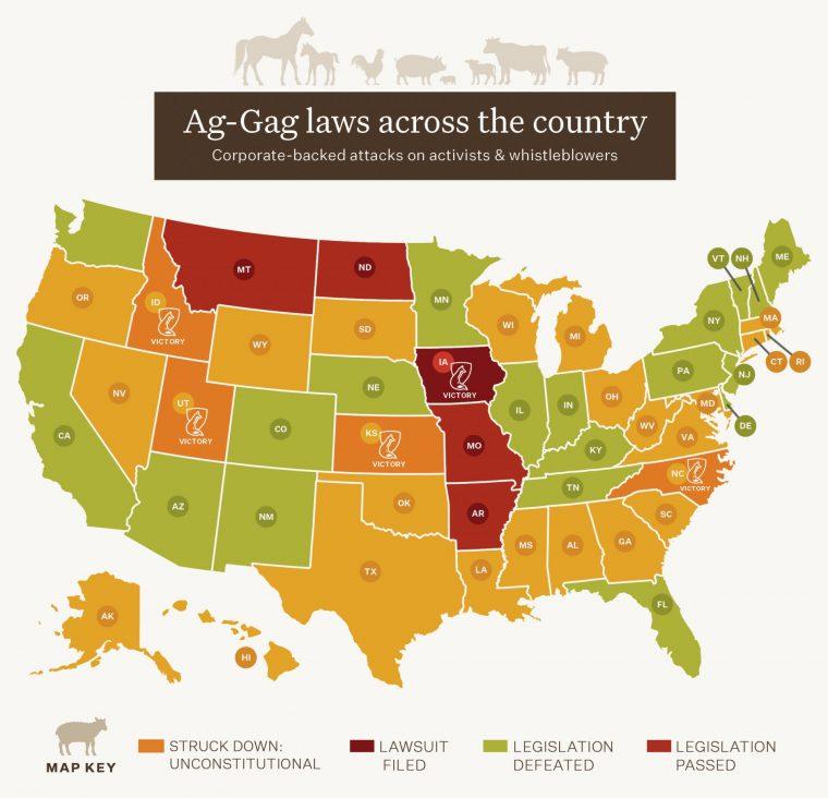 June 2020 Ag-Gag Map Update