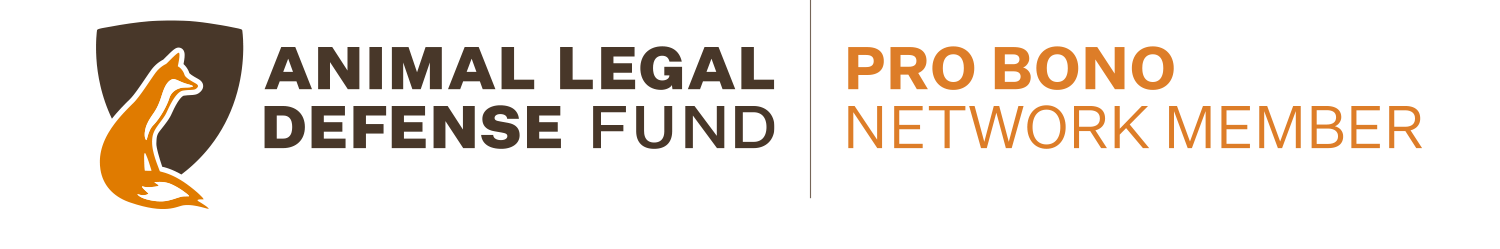 Animal Legal Defense Fund Pro Bono Network Member