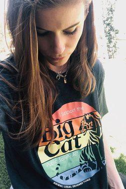 Kate Mara Big Cat T-shirt